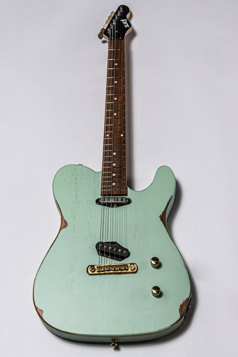 Guitarra Slick Guitars SL50 Surf Green Telecaster