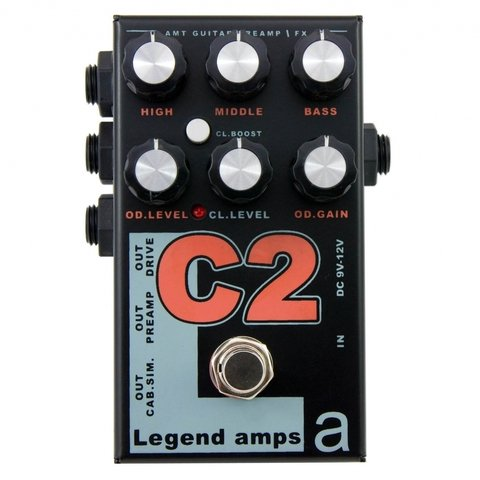 Pedal AMT C2 Legend Amps II Cornford Emulates