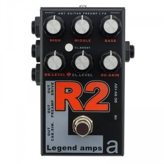 Pedal AMT R2 Legend Amps II Rectifier Emulates