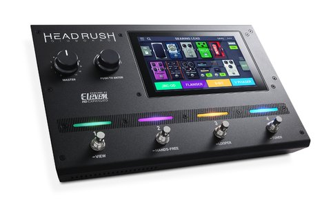 Pedalera Headrush Gigboard Eleven Expanded DSP