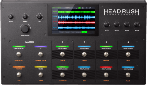Pedalera Headrush Looperboard