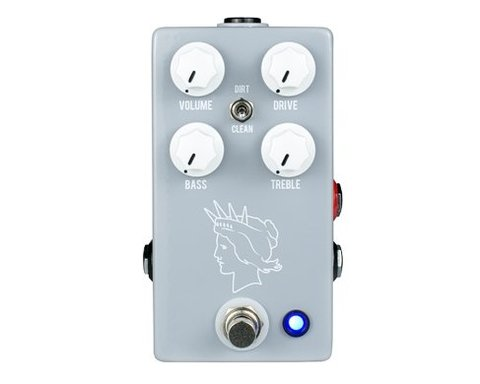 Pedal JHS Twin Twelve Silvertone 1484 Tones Overdirve Distortion