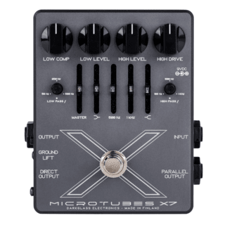 Pedal Preamplificador Darkglass Microtubes X7 Multiband Distortion