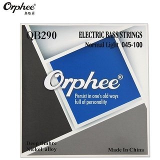 Encordado Orphee Nickel Alloy QB290 Deep Timbre Para Bajo .45-100