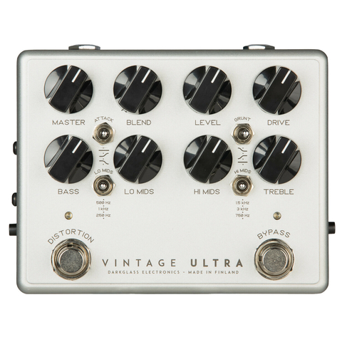 Pedal Preamplificador Darkglass Vintage Ultra V2 Aux In