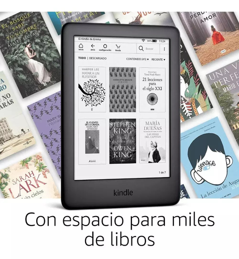 Amazon Kindle Ebook 10generacion Luz Bluetooth - tienda online