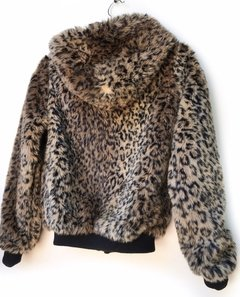 Campera Bershka Animalprint en internet