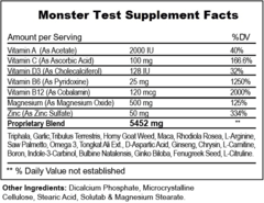 Monster Test 120 Tabs - comprar online