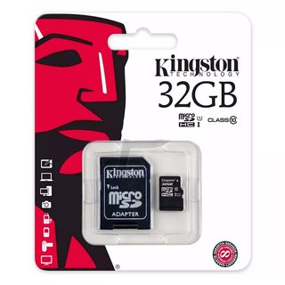Memoria Micro Sd 32gb Kingstone Clase 10 Canvas 80mbs
