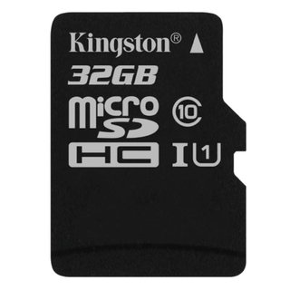 Memoria Micro Sd 32gb Kingstone Clase 10 Canvas 80mbs - comprar online