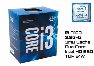 Micro Procesador Intel Core I3 7100 7thG 3.9mhz Pc 1151