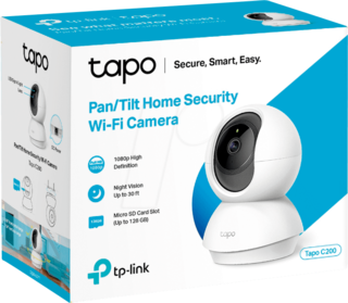 Cámara De Seguridad Ip Tplink Tapo C200 Full Hd Wifi 360