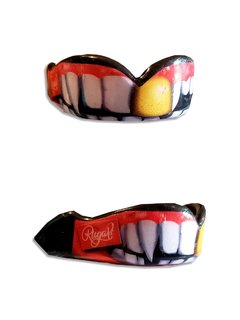 Protector Bucal Rugart gold tooth
