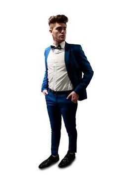 Traje Azul Marino - Dandy Smoking