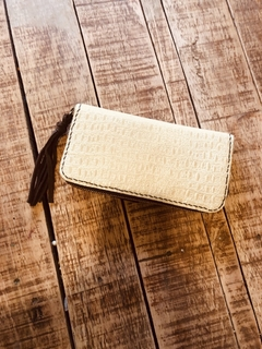 Guayaca Wallet alligator crudo - comprar online