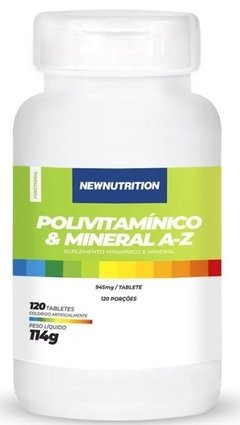 POLIVITAMINICO & MINERAL A-Z - 120 CAPS - NEW NUTRITION