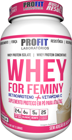 WHEY FOR FEMINY  - 900G - PROFIT LABS