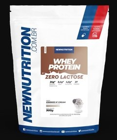 Imagem do WHEY ZERO LACTOSE - 900G - NEW NUTRITION