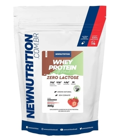 WHEY ZERO LACTOSE - 900G - NEW NUTRITION na internet