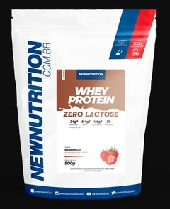 WHEY ZERO LACTOSE - 900G - NEW NUTRITION