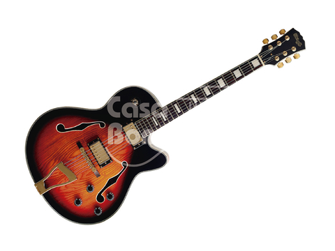 A300VS Stagg Guitarra Eléctrica Jazz Hollow