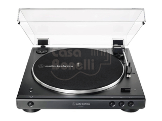AT-LP60XBT-BK Audio Technica Bandeja Giradiscos a Correa con Bluetooth