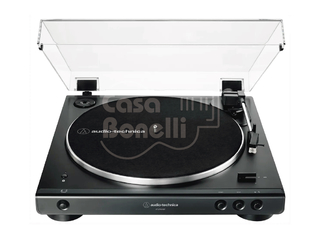 AT-LP60X-BK Audio Technica Bandeja Giradiscos a Correa