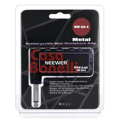Mini Headphones Amplificador para metal GA-4