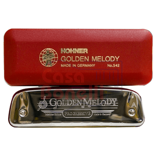 Armonica Blusera Hohner Golden Melody C