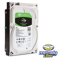 DISCO DURO INT 2TB SATA 6 GB/S 64MB BARRACUDA SEAGATE