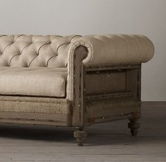SOFA CHESTERFIELD DECONSTRUCTED - 30% OFF EN EFECTIVO