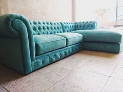 SOFA ESQUINERO CHESTERFIELD