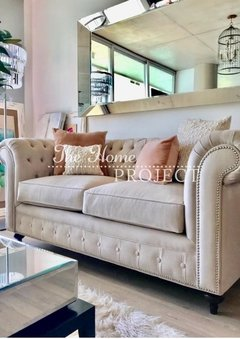SOFA CHESTERFIELD - 30% OFF EN EFECTIVO