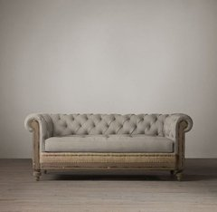SOFA CHESTERFIELD DECONSTRUCTED - 30% OFF EN EFECTIVO - comprar online
