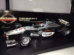 Imagem do F1 Mclaren Mercedes MP4/15 D. Coulthard - Minichamps 1/18