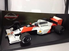 Imagem do F1 Mclaren MP4/5B G. Berger - Minichamps 1/18