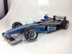 F1 Bar 01 Supertec Testcar 1999 J. Villeneuve - Minichamps 1/18
