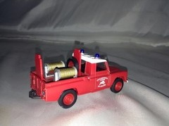 Land Rover Pompiers Des Ardennes - Corgi 1/50 - B Collection