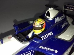 F1 Williams FW24 Ralf Schumacher - Minichamps 1/18 - loja online