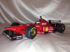 F1 Ferrari F310/2 M. Schumacher - Minichamps 1/12 - B Collection