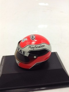Capacete Arai - Johnny Herbert (1998) Minichamps 1/8 - B Collection