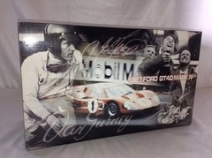 Imagem do Ford GT40 (Winner Le Mans 1967) - GMP 1/12
