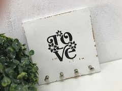 Porta Chaves Chaveiro Decor Love