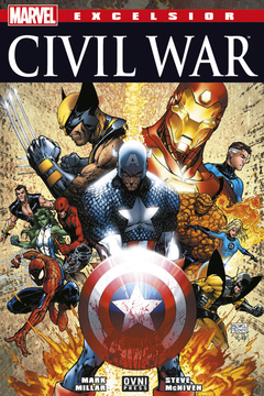 MARVEL EXCELSIOR CIVIL WAR