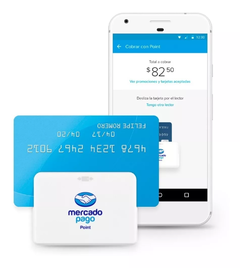 Mercado pago point bluetooth lector de tarjetas mpos