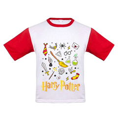 REMERA NIÑO - HARRY POTTER - TALLE 4 Y 6