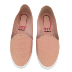 Tênis Slip On Nude Moleca 5109712 na internet