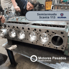 Semiarmado Scania 113 | Rectificado