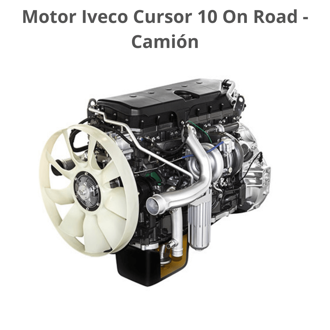 Motor Iveco Cursor 10 On Road para Camion