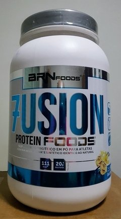 Whey Protein Concentrado Fusion Protein Foods 900g - BRN Foods - comprar online